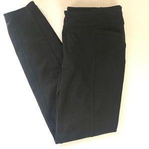 ATHLETA Black Leggings With Pockets Sz M EUC